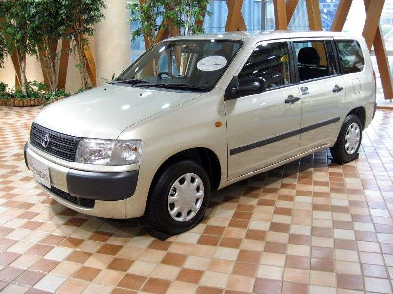 Toyota Probox 1st generation wagon 1.5 AT 4WD Van (2002 – n.)