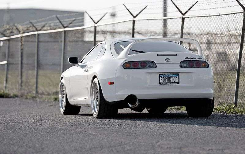 Toyota Supra Mark IV [restyling] coupe 3.0 MT Overdrive (1996–1997)