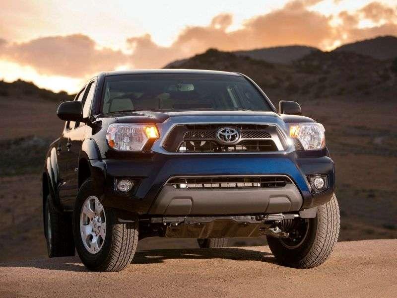 Toyota Tacoma 2. generacji [2. zmiana stylizacji] Double Cab pickup 4 drzwiowy. 2,7 AT (2012 do chwili obecnej)