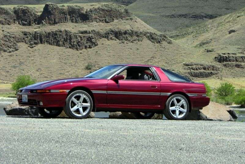 Toyota Supra Mark III [restyling] coupe 2.0 MT Overdrive (1988–1992)