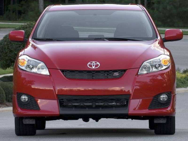 Toyota Matrix 2nd generation hatchback 5 dv. 1.8 AT (2009–2010)