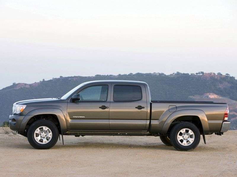 Toyota Tacoma 2nd generation Double Cab pickup 4 doors 4.0 MT 4x4 L1 (2007–2010)
