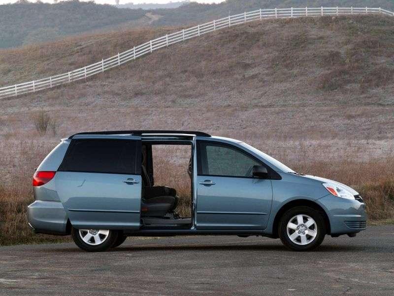 Toyota Sienna 2nd generation minivan 3.3 AT (2004–2005)