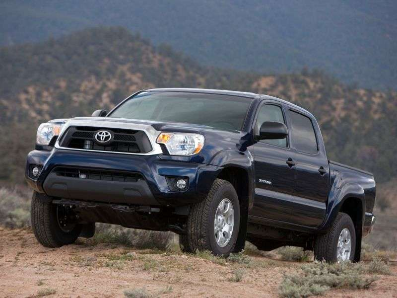 Toyota Tacoma 2nd generation [2nd restyling] Double Cab pick up 4 bit. 4.0 AT 4x4 L1 (2012 – current century)
