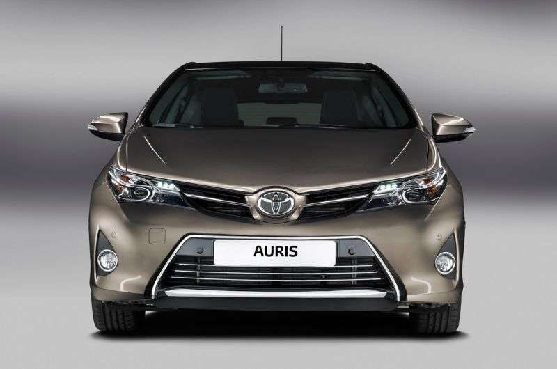 Toyota Auris 2 generation hatchback 5 dv. 1.8 CVT (2012 – current century)