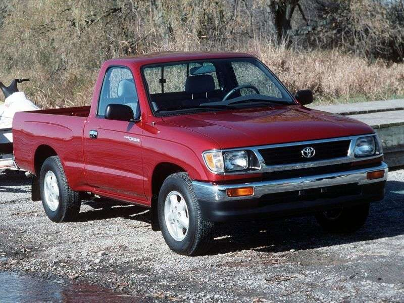 Toyota Tacoma 1st generation Regular pickup 2 bit. 2.4 MT (1995–1997)