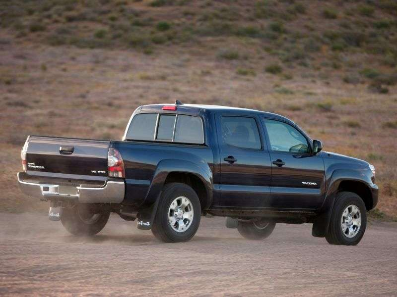 Toyota Tacoma 2nd generation [2nd restyling] Double Cab pick up 4 bit. 4.0 AT 4x4 L2 (2012 – current century)