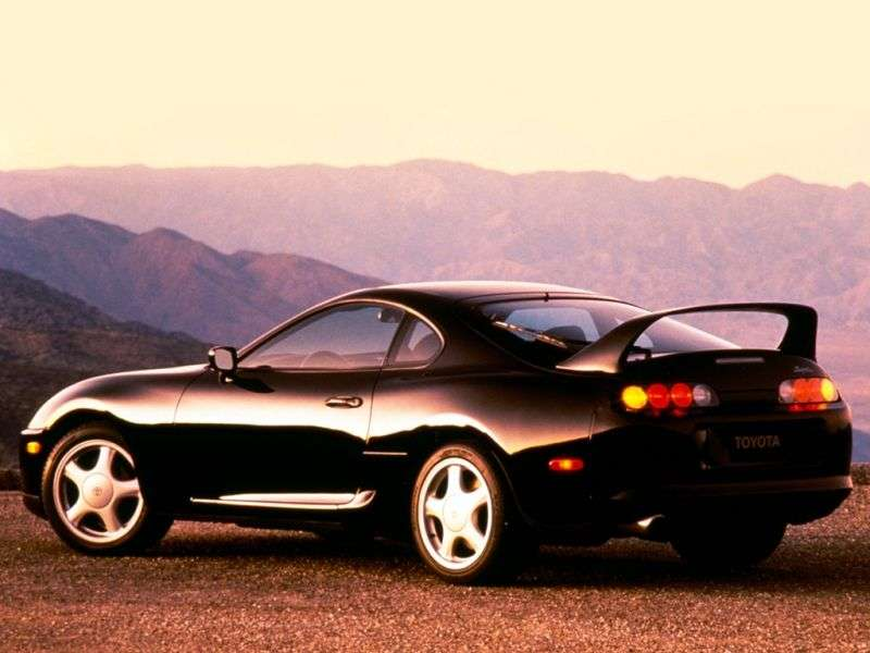 Toyota Supra Mark IV Coupé 3.0 Twin Turbo AT Overdrive (1993–1996)