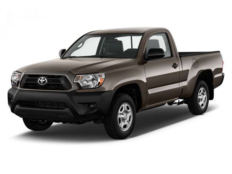 Toyota Tacoma 2nd generation [2nd restyling] Regular Cab pick up 2 bit. 2.7 MT (2012 – n. In.)