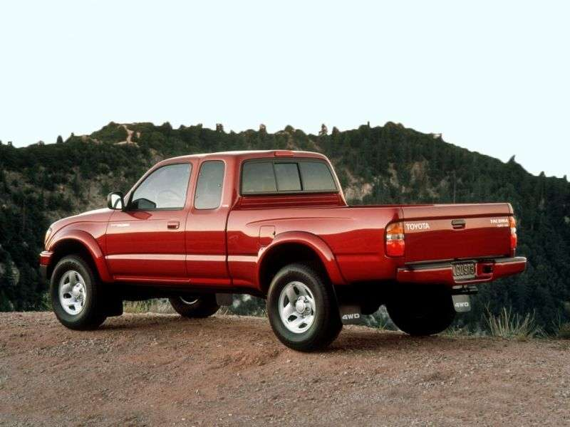 Toyota Tacoma 1st generation [2nd restyling] Xtracab pickup 2 bit. 2.7 AT Overdrive (2001–2004)