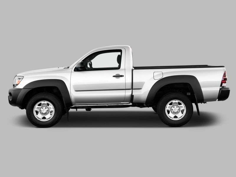 Toyota Tacoma 2nd generation [restyled] Regular Cab pickup 2 bit. 2.7 AT (2010–2011)