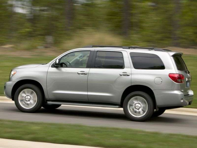 Toyota Sequoia 2nd generation SUV 4.6 AT 4WD (2010 – n.)