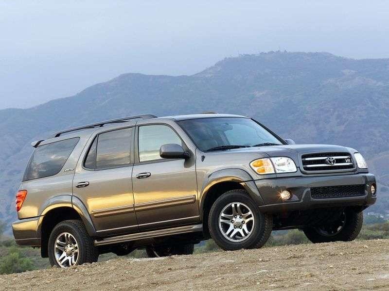 Toyota Sequoia 1st generation SUV 4.7 AT (2001–2005)