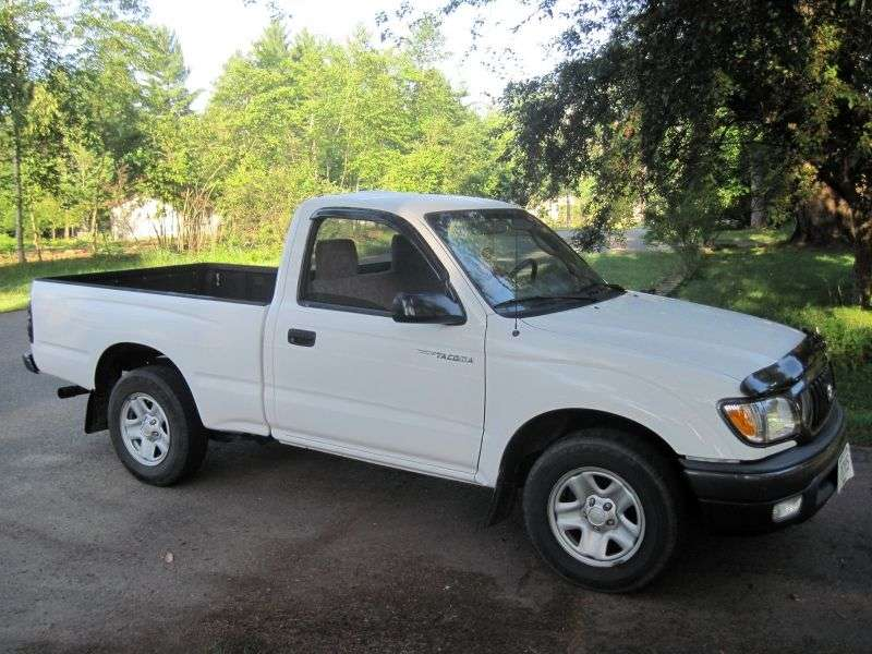 Toyota Tacoma 1st generation [2nd restyling] Regular pickup 2 bit. 2.7 AT Overdrive 4x4 (2001–2004)