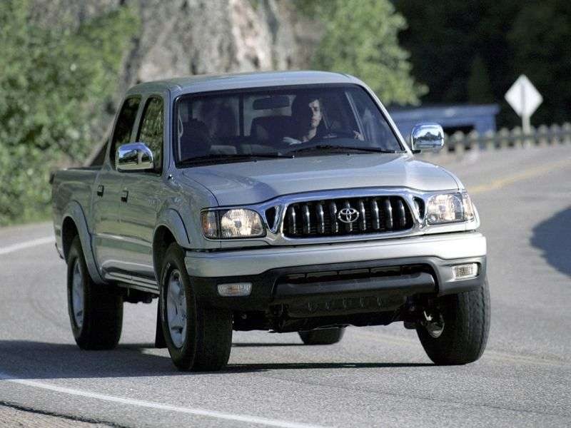 Toyota Tacoma 1st generation [2nd restyling] Double Cab pick up 4 bit. 2.7 AT Overdrive (2001–2004)