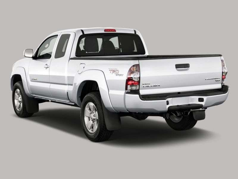 Toyota Tacoma 2nd generation [restyling] Access Cab pickup 2 bit. 4.0 AT (2010–2011)