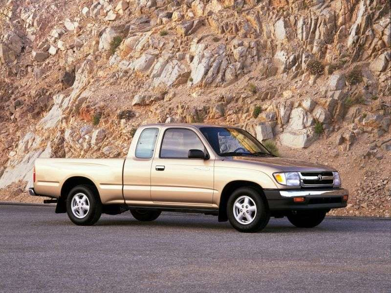 Toyota Tacoma 1st generation [restyled] Xtracab pickup 2 bit. 2.7 AT Overdrive (1999–2000)