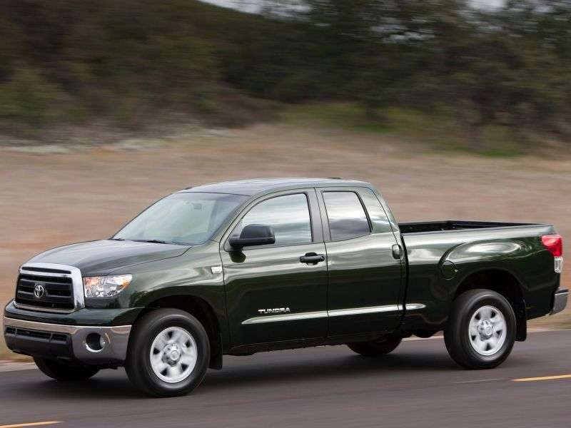 Toyota Tundra 2nd generation [restyling] Double Cab pick up 4 bit. 4.0 AT (2009 – n. In.)