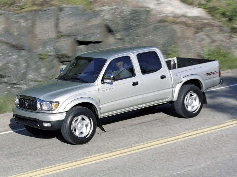 Toyota Tacoma 1st generation [2nd restyling] Double Cab pick up 4 bit. 3.4 AT Overdrive (2001–2004)