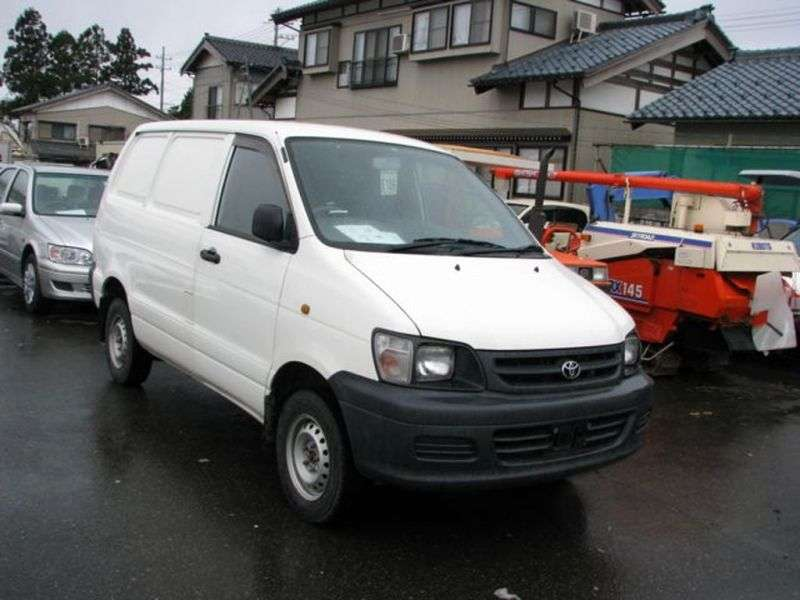 Toyota Town Ace 4th generation van 1.8 AT (1996–1998)