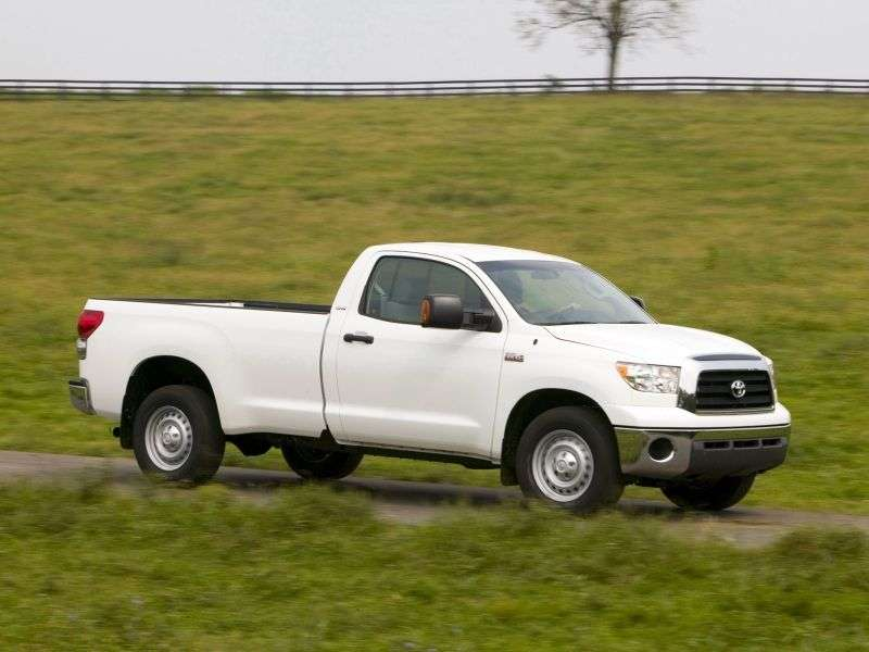 Toyota Tundra 2nd generation Regular Cab pick up 2 dv. 4.7 AT 4WD (2007–2008)