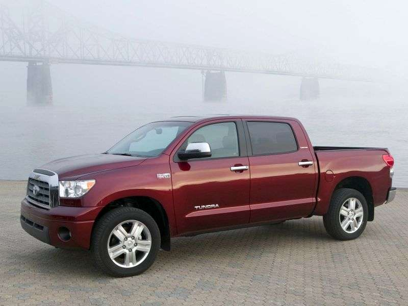 Toyota Tundra 2nd generation Crew Max pickup 4 bit. 5.7 AT 4WD (2007–2008)