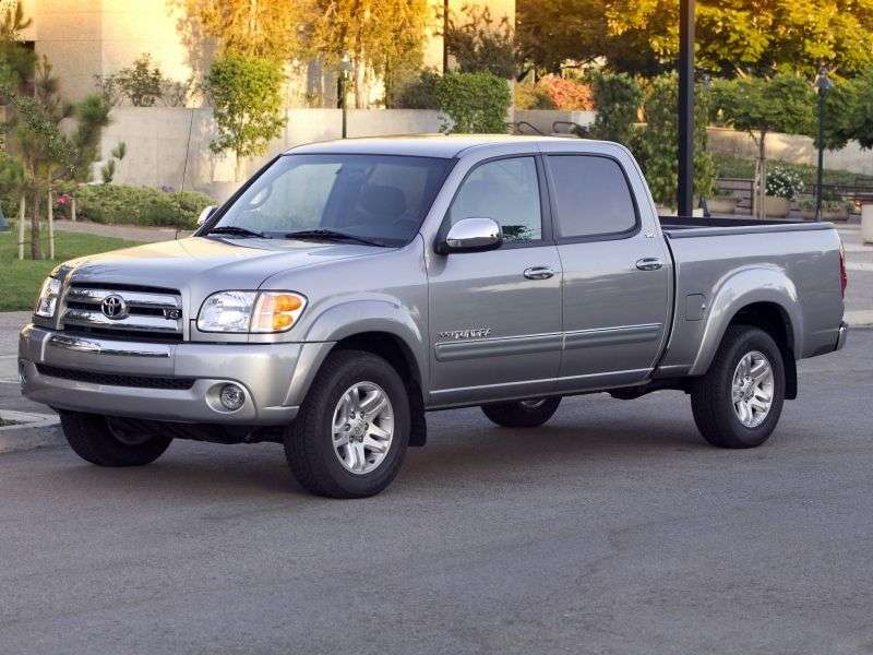 Toyota Tundra 1st generation [restyling] Double Cab pickup 4 bit. 4.7 AT (2003–2006)