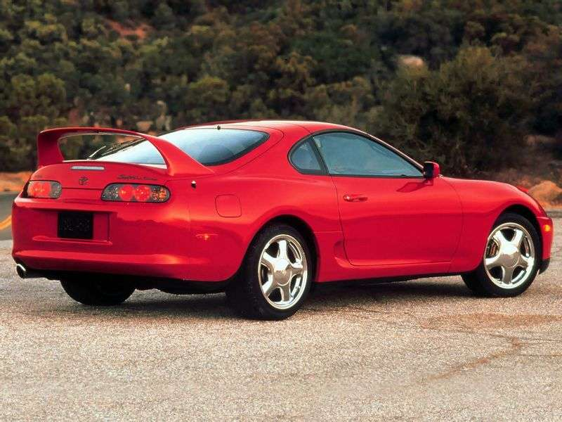 Toyota Supra Mark IV [restyling] Targa 3.0 AT Overdrive (1998–1998)