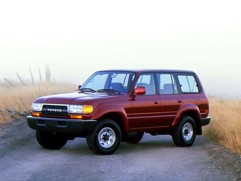 Toyota Land Cruiser J80 5 door SUV. 4.0 AT J80G (1989–1992)