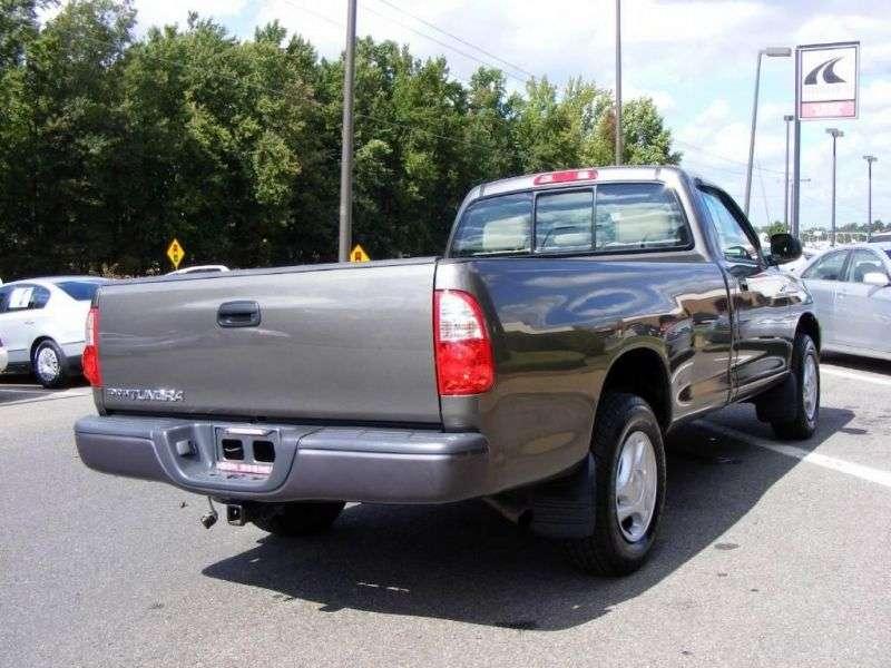 Toyota Tundra 1st generation [restyled] Regular Cab pickup 2 bit. 4.7 AT 4WD (2003–2006)