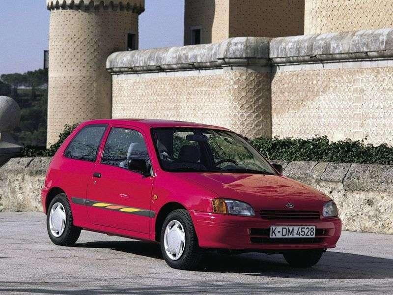 Toyota Starlet 90 Serieshatchback 3 dv. 1.3 Turbo MT (1996–1999)