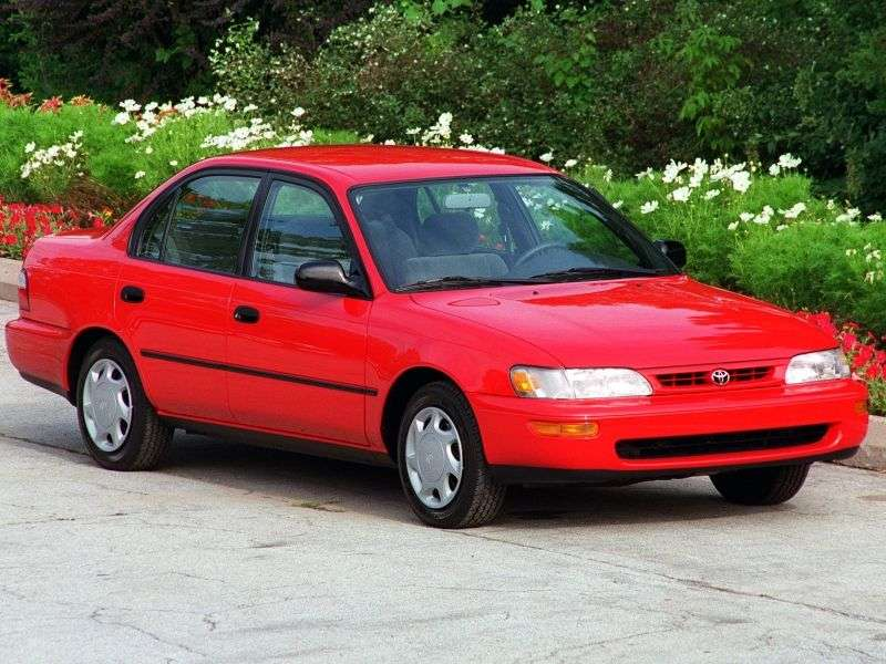 Toyota Corolla E100 [restyling] 1.6 MT sedan (1993–1995)