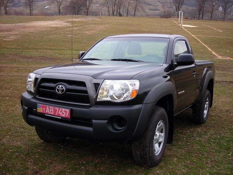 Toyota Tacoma 2nd generation Regular pickup 2 bit. 2.7 AT Overdrive (2005–2010)
