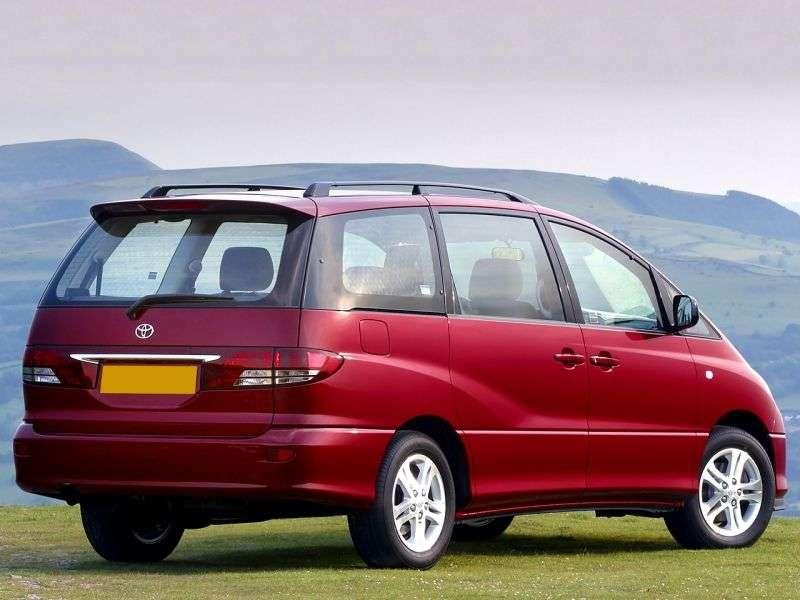 Toyota Previa XR30 / XR40 [restyling] minivan 2.0 D4 D MT 7seat (2005–2006)