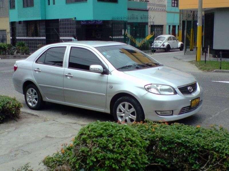 Toyota Vios 1st generation sedan 1.5 MT (2002–2005)