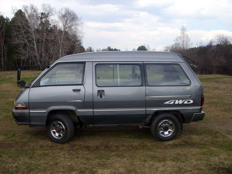 Toyota Town Ace 2nd generation [2nd restyling] minivan 2.0 MT High roof (1988–1992)