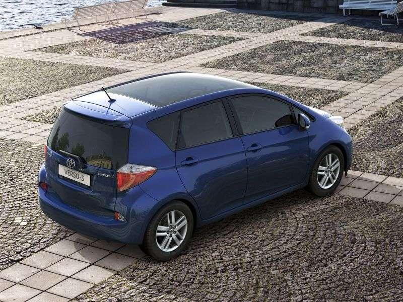 Toyota Verso S 1st generation 1.3 MT minivan (2010 – n.)