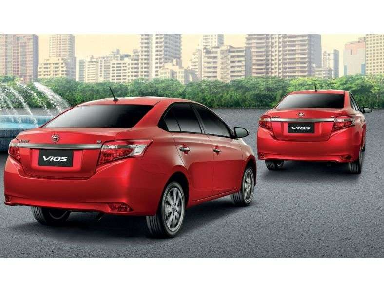Toyota Vios 3rd generation sedan 1.5 MT (2013 – n. In.)