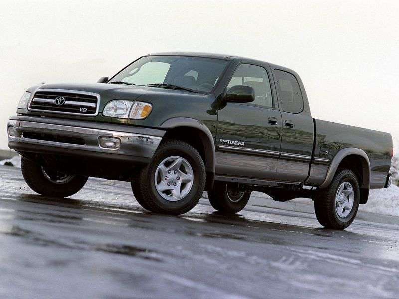 Toyota Tundra 1st generation Access Cab 4 bit pickup. 3.4 AT (2000–2002)
