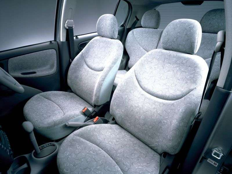 Toyota Vitz XP10hechbek 5 dv. 1.0 AT (1998–2002)
