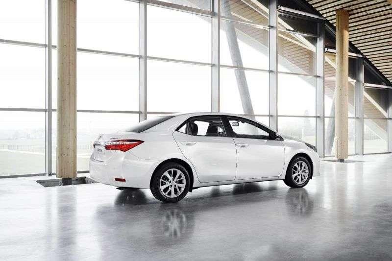 Toyota Corolla E160sedan 1.6 MT Comfort (2013) (2013 – present)