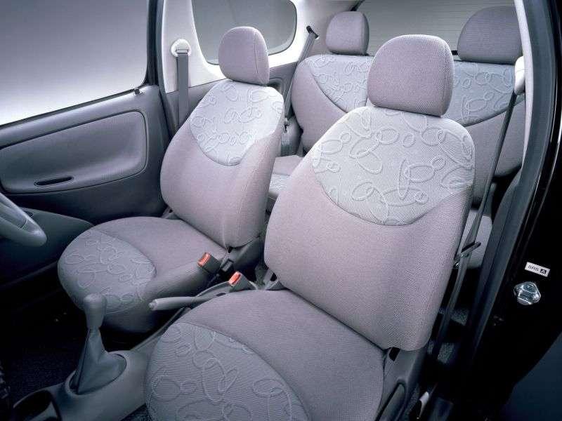 Toyota Vitz XP10hechbek 3 dv. 1.3 4WD AT (1998–2002)