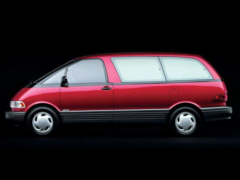 Toyota Previa XR10 / XR20 minivan 2.4 AT (1990–1995)