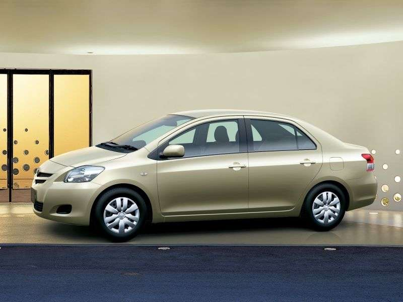 Toyota Vios 2nd generation sedan 1.3 MT (2006–2010)