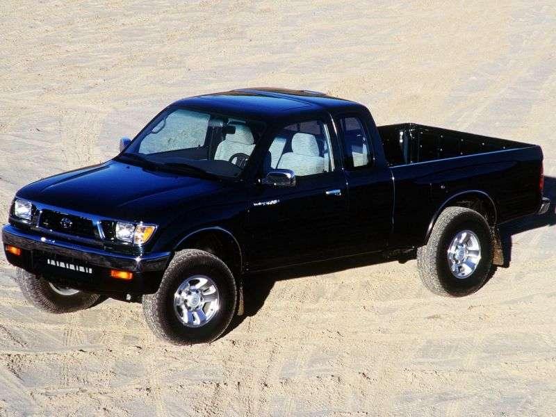 Toyota Tacoma 1st generation Xtracab pickup 2 bit. 2.4 AT (1995–1997)