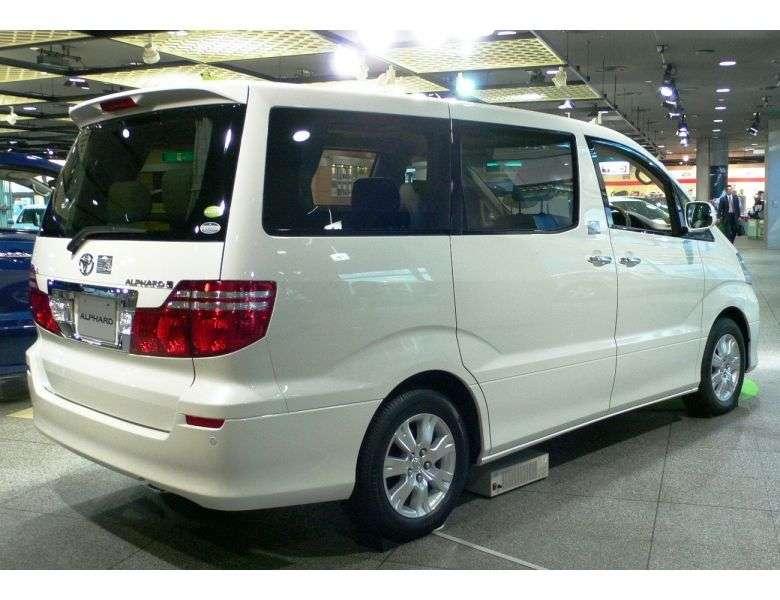 Toyota Alphard 1st generation [restyled] minivan 3.0 AT (2004–2008)