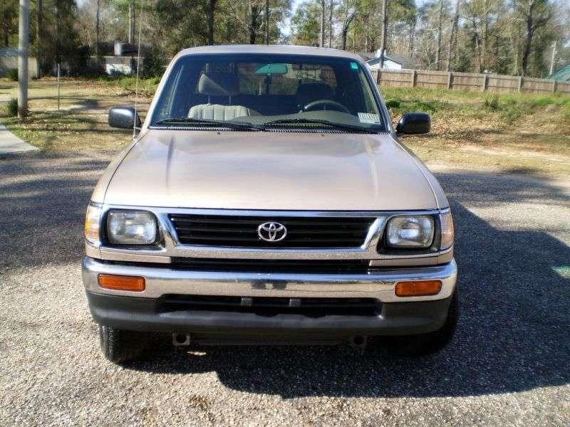 Toyota Tacoma 1st generation Xtracab pickup 2 bit. 3.4 AT 4x4 (1995–1997)