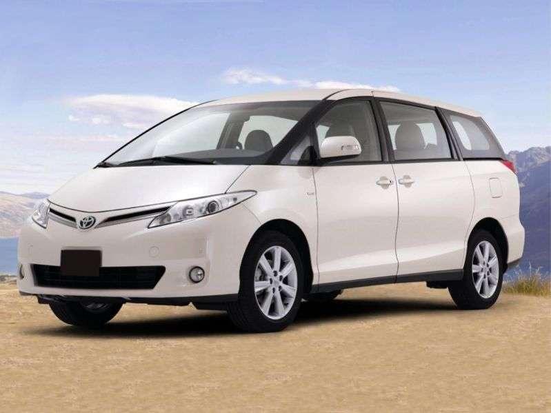 Toyota Previa XR50 minivan 2.4 AT (2007 – v.)