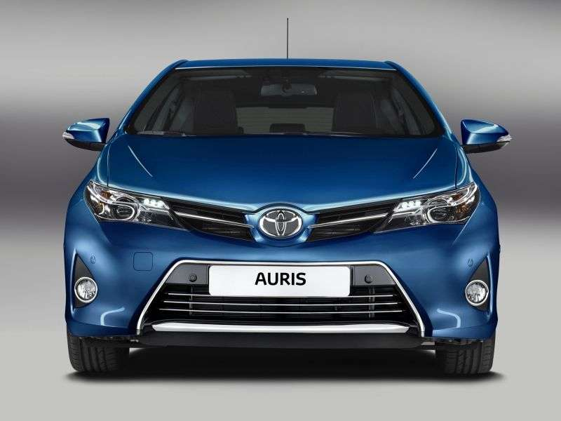 Toyota Auris 2 generation hatchback 5 dv. 1.4 D 4D MMT (2012 – current century)