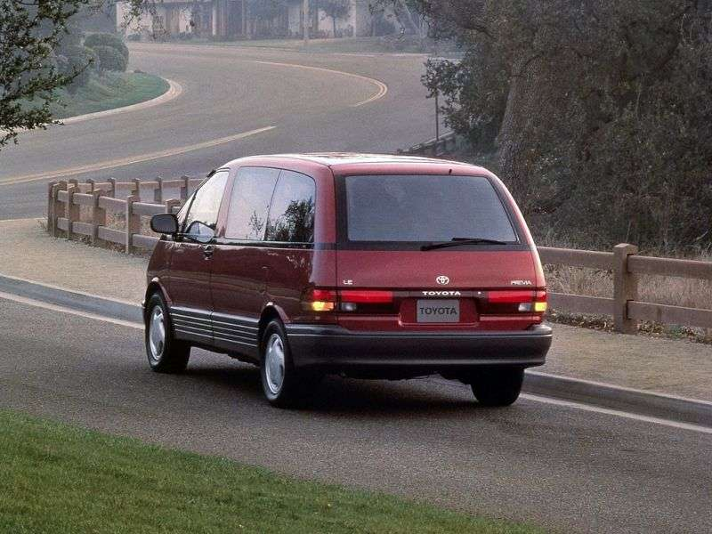 Toyota Previa XR10 / XR20 minivan 2.4 AT 4X4 (1990–1995)